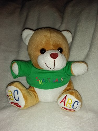 Plush Smart Pals Teddy Bear Singing ABC's in English and in Spanish 10'' Inches ()