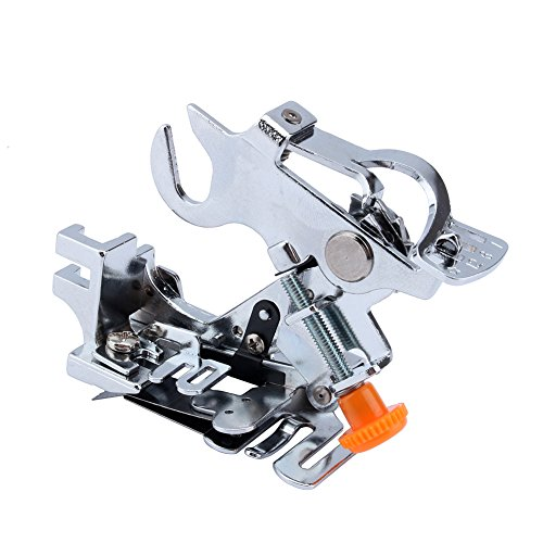 Ruffler Foot,Ruffler Attachment Presser Foot Machine Fits All Low Shank Singer, Brother,Babylock,Janome,Kenmore,Juki,New Home,Necchi and Elna Sewing Machine ()