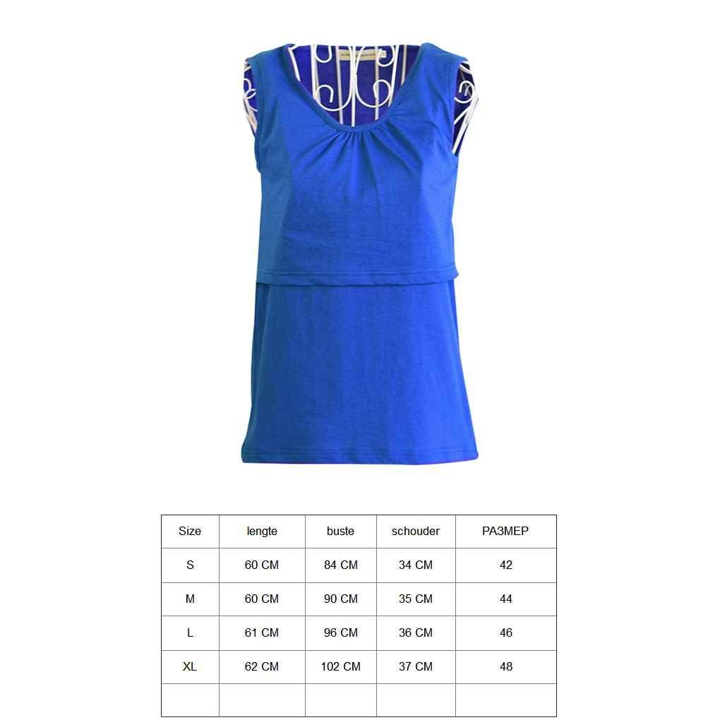Arichtop Women Maternity Breast Feeding Vest Elastic Cotton Nursing Tank Tops Clothes Pregnant Soft T-Shirt