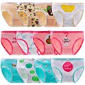 12-Pack Anktry Baby Soft Comfort Knickers Cotton Underwear (2-10 Yrs)
