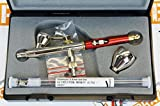 Harder and Steenbeck Infinity 2in1 two in one airbrush 0.2mm + 0.4mm nozzle sets by SprayGunner