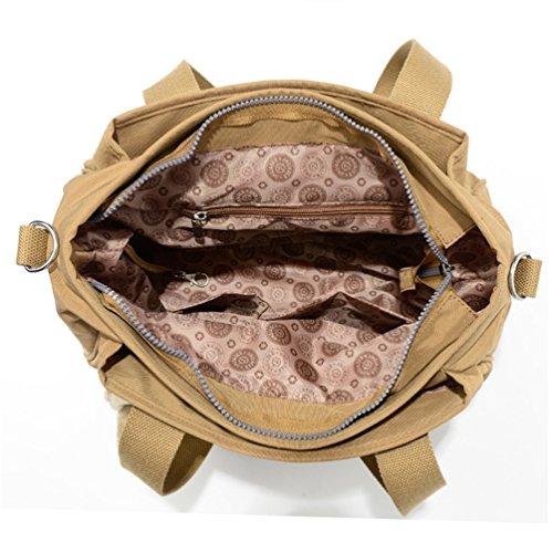 Resistant Bag Chou Crossbody Strap Messenger Tote Rose Handbag Shoulder Nylon with Detachable Water Tiny E1pCqp