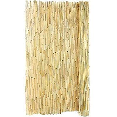 "Great Garden Decor Patio Shading Reed Fence, 4"" H x 8"" L"
