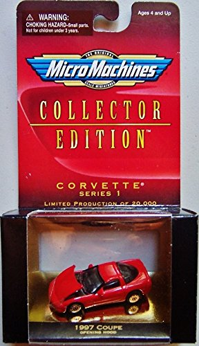 Special Business Coupe (Micro Machines Corvette 1997 Red Coupe)