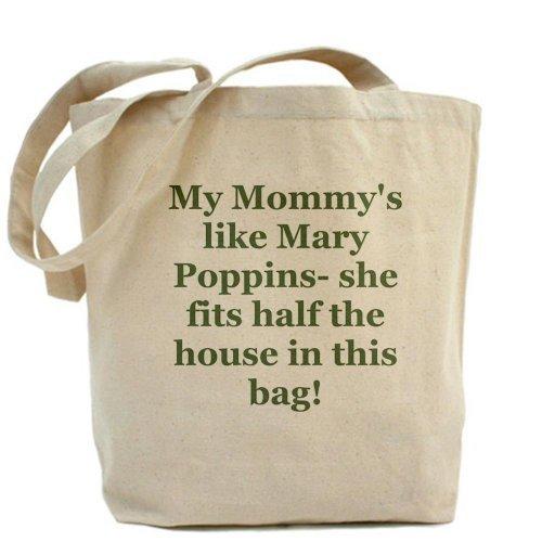CafePress Mary Poppins Tote Bag–Standard Multi-color da CafePress