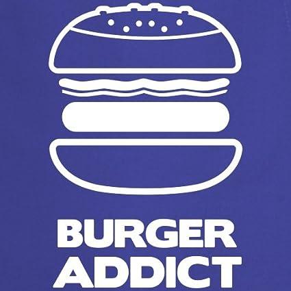 Spreadshirt Burger Addict Accro Aux Burgers Tablier