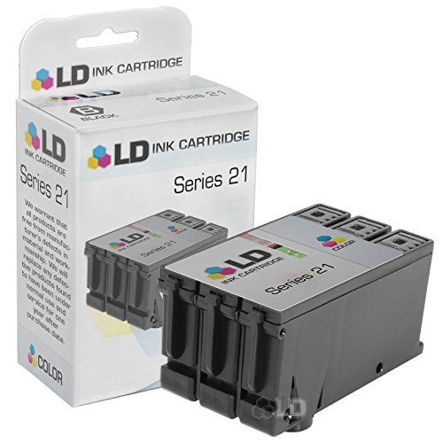 LD Compatible Ink Cartridge Replacement for Dell Y499D 330-5274 Series 21 - Cartridge Print 21 Inkjet