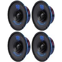 (4) Rockville RM64SP CEA Compliant 6 480W Mid-Bass Midrange Car Speakers 4 Ohm