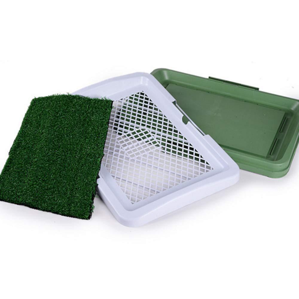 GOYOO Dog toilet 3-story lawn artificial turf Dog potty Training mat