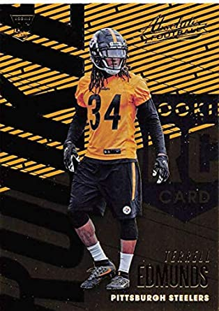 2018 Absolute Football  104 Terrell Edmunds Rookie RC Rookie Pittsburgh  Steelers Official NFL Trading Card 31a2cf4ad