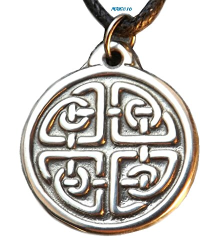 Celtic Harmony Knot (Small) - Pewter Pendant - Balance and Elemental Dance of Life - Pewter Pendant Harmony