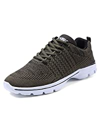 eyeones Men's Womens Trainers Sneakers Running Shoes for Athletic Outdoor Sports