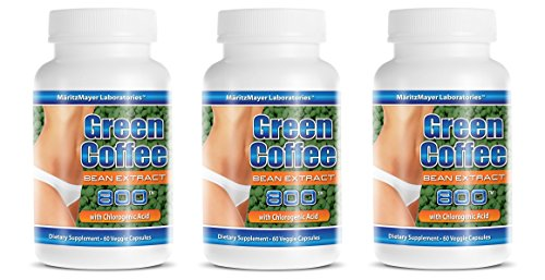 High-minded Super Green Coffee Extract 800mg, 180 Capsules