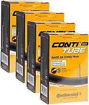 Continental Tubes 700 x 25-32 válvula presta 42 mm, paquete de 4