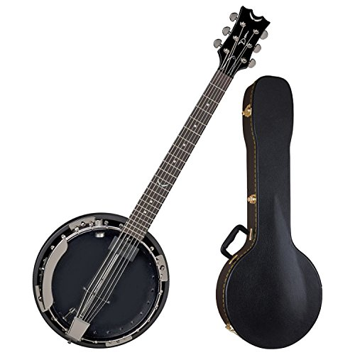 Banjo Electric (Dean BW6E BC Backwoods 6 String Acoustic Electric Banjo w/ Case)