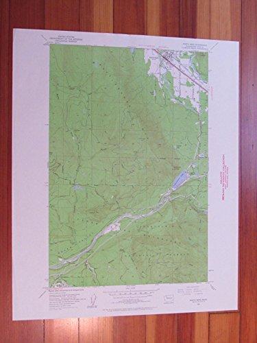 North Bend Washington 1960 Original Vintage USGS Topo ()