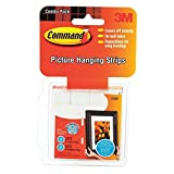 Command Picture Hanging Strips, 16-Small, 32-Medium