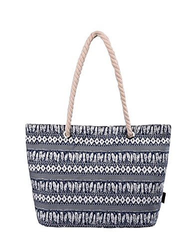 Handbag Wave Beach Douguyan Shoulder Canvas 252M Tote Bag qvxxa0f