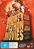 Monty Python and Now For Something Completely Different / Life of Brian / Holy Grail / Meaning of Life | 4 Discs | NON-USA Format | PAL | Region 4 Import - Australia