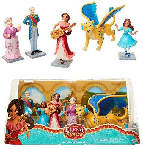 Adventure Figurine (Disney Elena of Avalor - ADVENTURE FIGURINE SET - Highly Detailed and Collectible Figures!)