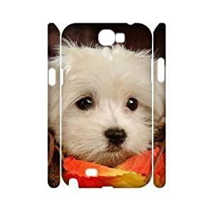 VNCASE Cute Dog Phone Case For Samsung Galaxy Note 2 N7100 [Pattern-1]