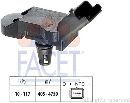 Aggiustaggio altimetrico; Sensore Facet 10.3080 Sensore pressione aria Pressione collettore daspirazione