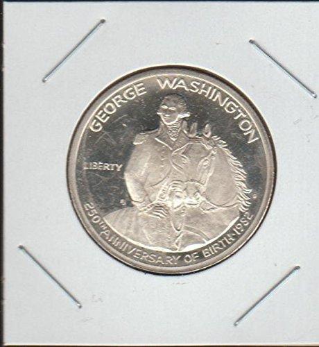 gton 250th Anniversary Commerative Half Dollar Proof US Mint ()