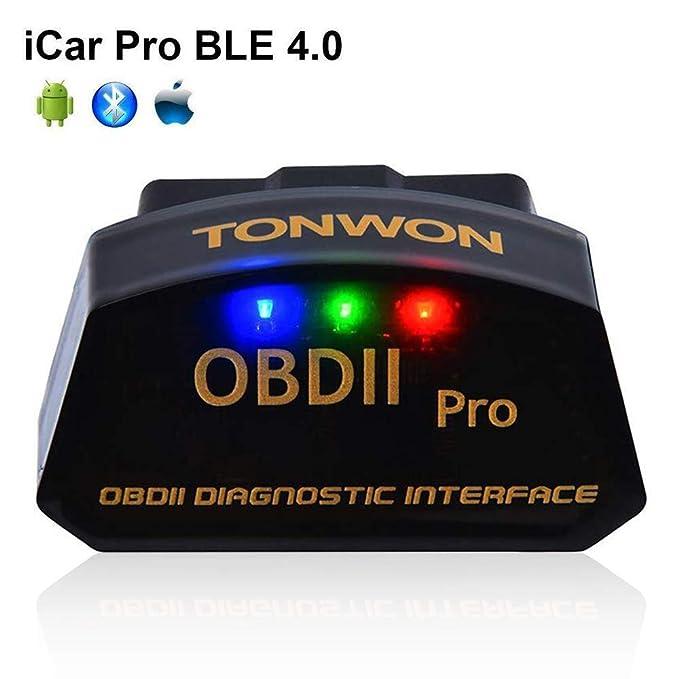 31 opinioni per OBD2 Bluetooth Auto Diagnosi Strumento, TONWON OBDII ELM327 Adattatore Car