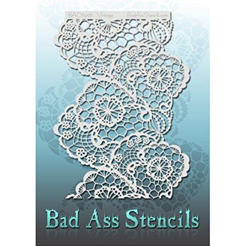 Bad Ass Vintage Full Size Stencils BAD6066