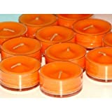 PartyLite Tealight Candles : Mango Tangerine 1 Dozen (12 scented candle), Health Care Stuffs
