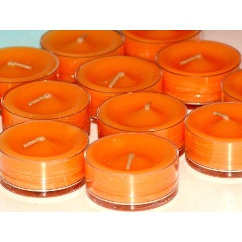 PartyLite Tealight Candles : Mango Tangerine 1 Dozen (12 scented candle), Health Care Stuffs