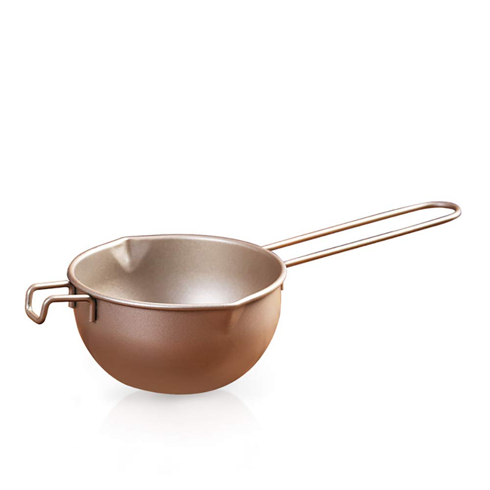 Chocolate Melting Pot, Non-Stick Coating Double Boiler Insert Baking Tools 650 Ml Mask,Melted Butter Chocolate