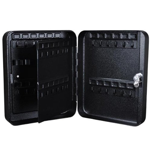 Portable Key Safe Stores 48 Keys (black)