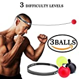 boxing training equipment - Boxing Fight Ball Reflex for Improving Speed Reactions and Hand Eye Coordination,Boxing Punch Equipment for Boxing, MMA and Other Combat Sports Training and Fitness (1)