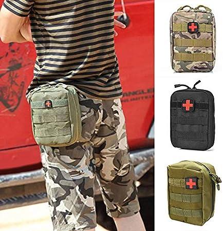 Liu Feste Outdoor Tactical Edc Werkzeugtasche Medizintasche Aufbewahrungstasche Sundries Bag Molle Tasche Module Rucksack Zubehor Schwarz Amazon De Garten