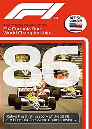 Amazon com: F1 1986 Official Review NTSC DVD: Alain Prost: Movies & TV