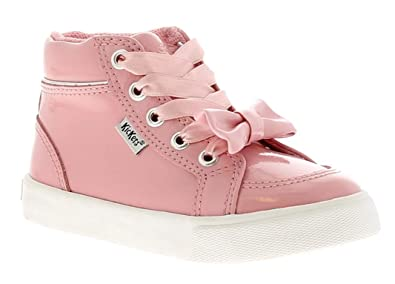 773e8032f70ed Kickers Baby Girls' Tovni Bow Lace Boots: Amazon.co.uk: Shoes & Bags