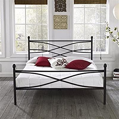 Rosalyn Metal Platform Bed! No Boxsprings Needed! Supports Up to 700 Lbs! (Full) -  - bedroom-furniture, bedroom, bed-frames - 51imCnOj3NL. SS400  -