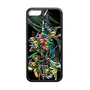 Unique Design The Legend of Zelda for iPhone 5C TPU Case