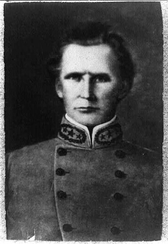 Photo: Joseph Lewis Hogg, 1806-1862, Confederate States Army General, American Civil War