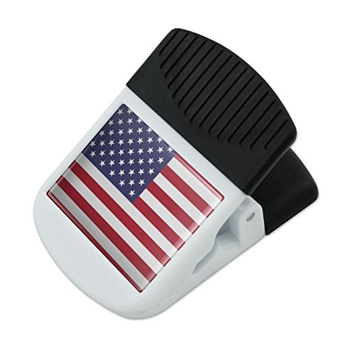 rica American USA Flag Refrigerator Fridge Magnet Magnetic Hanging Hook Note Snack Clip ()