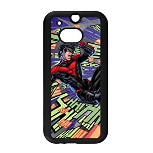US Hot Comics&Nightwing Robin Background Case Cover for HTC One M8 - Hard PC Back&4 sides TPU Protective Case Shell-Perfect as gift