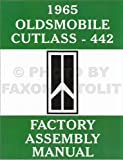 1965 Olds F-85, Cutlass & 442 Assembly Manual Reprint