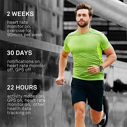HUAWEI Watch GT Orologio da Polso con Monitoraggio della Frequenza Cardiaca e Notifiche Intelligenti, Fino a 2 Settimane di Durata della Batteria, Marrone