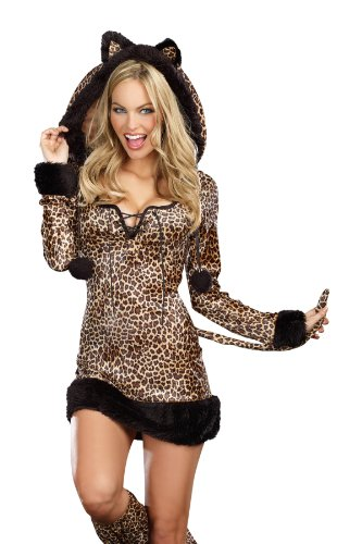 Cheetah Luscious Costume