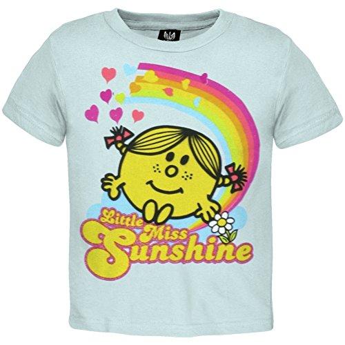 Ptshirt.com-19301-Little Miss - Sunshine & Rainbows Infant T-Shirt-B003C1E93S-T Shirt Design