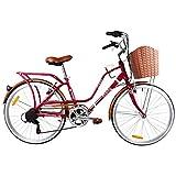 Monk Bicicleta Loving Urbana R-24 (Roja)
