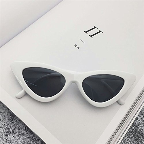 Sunyan Red Net Segel mit Brillen Sonnenbrillen mode Sonnenbrille Frauen hip hop Dreieck - coole Sonnenbrille Trendsetter, schwarzen Rahmen Blau