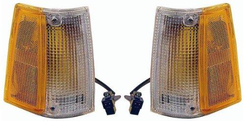 Mazda Pick Up 86-93 Side Marker Lights - Left & Right Lamps Lens & Housing