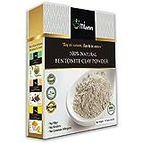 mi nature Fuller's Earth - Natural Multani Mitti Powder (HEALING CLAY) (BENTONITE CLAY) (100% NATURAL & PURE) for skin care & hair care
